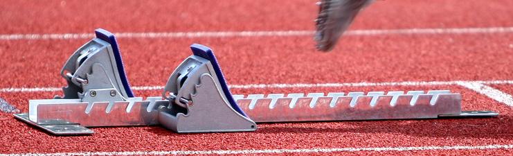 Kopfmotiv Leichtathletik