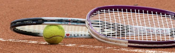 Kopfmotiv Tennis