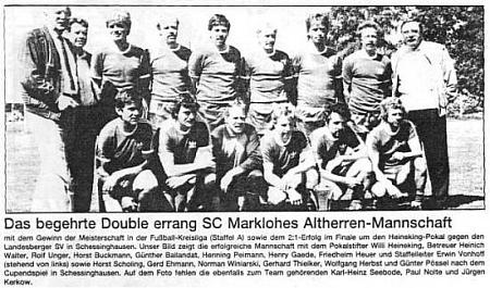 Alte Herren SC Marklohe