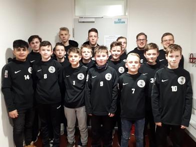 C-Jugend der JSG Marklohe erreicht zweite Runde der Hallenbezirksmeisterschaften in Hannover©SC Marklohe