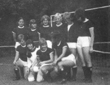 Fußballdamen 1971