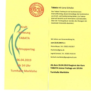 Tabata©SC Marklohe